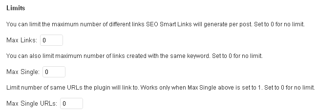 Limity SEO Smart Links